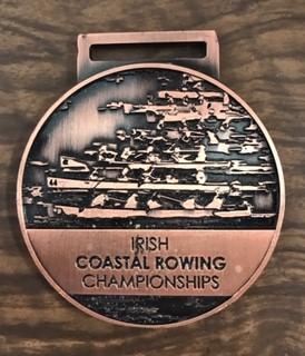 Irish Coastal Rowing Championship Medal