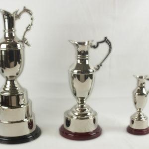 Claret Jug Nickel Plated Trophies